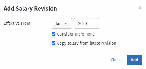 Revise Salary